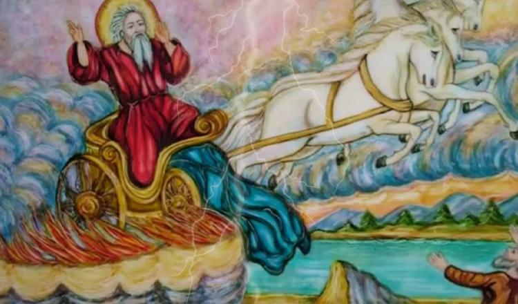 Sfântul Ilie și legenda carului de foc