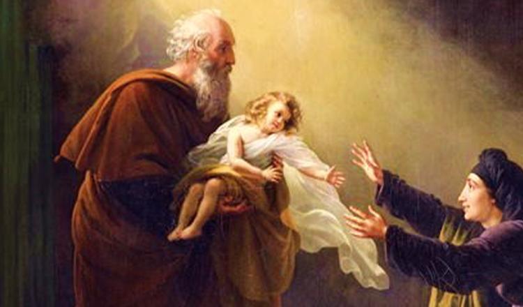 Sfântul Ilie a înviat un copil