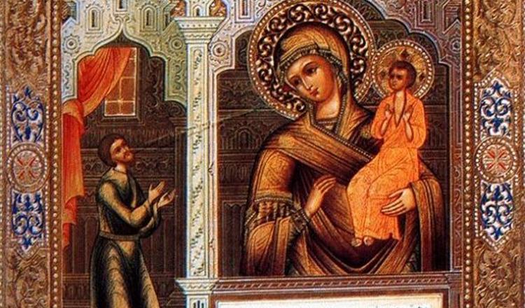 """Rugăciune puternică la icoana Maicii Domnului """"Bucuria Neașteptată"""""""