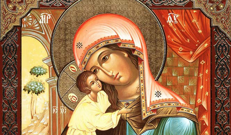 Rugăciune de mângâiere la Maica Domnului