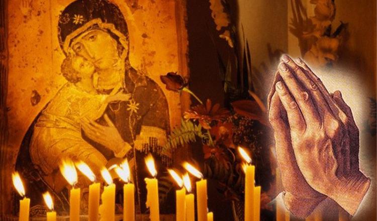 Rugăciunea lumânărilor aprinse