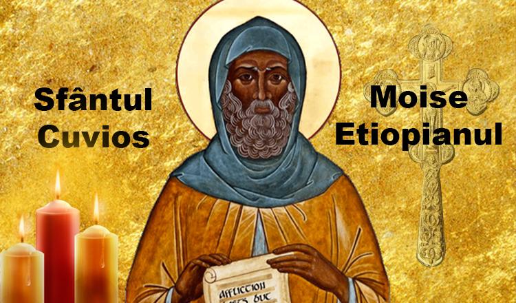 Sfântul Moise Etiopianul