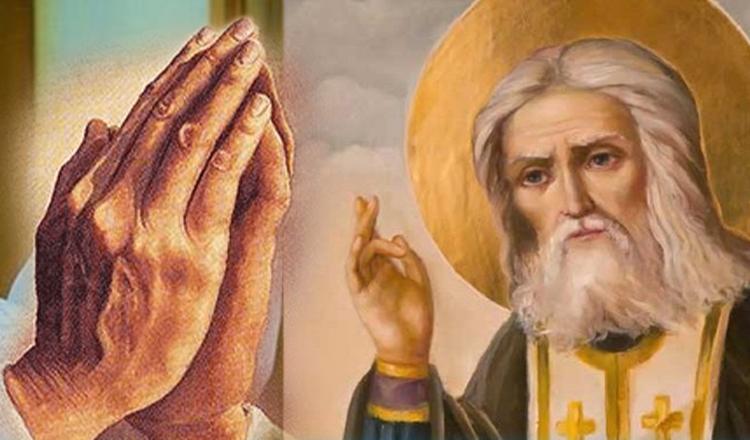 Două rugăciuni de protecție către Sfântul Serafim de Sarov