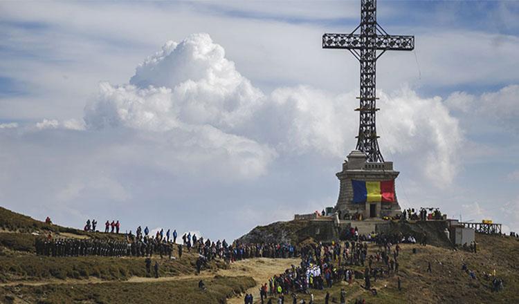 92 de ani de la inaugurarea Crucii de pe Caraiman