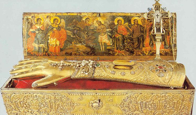 Sfânta Mâna Dreaptă a Sfântului Ioan Botezătorul