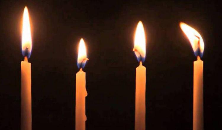 Pilda celor patru lumânări