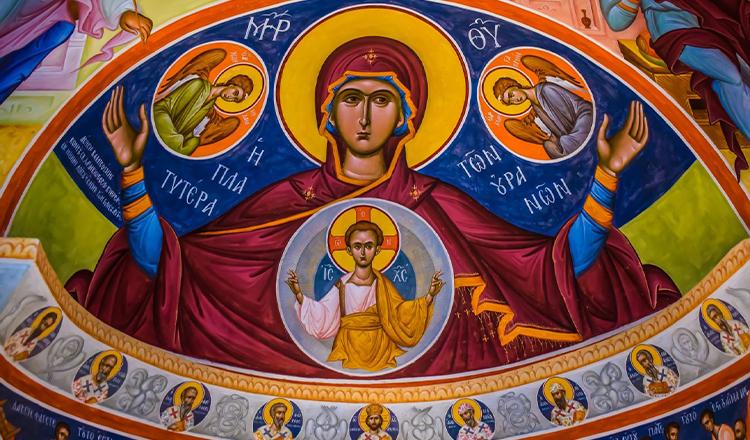 Rugăciune de ajutor Acoperământul Maicii Domnului