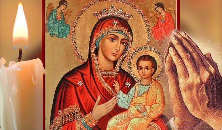 Trei rugăciuni scurte către Maica Domnului