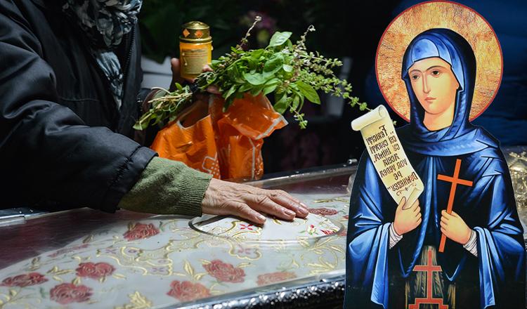 Mireasma de tămâie dăruită de Sfânta Parascheva
