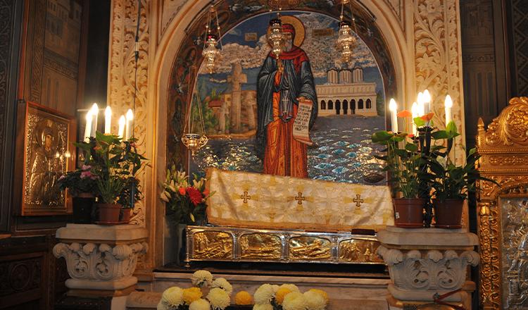 Moaştele Sfântului Dimitrie cel Nou