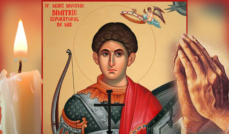 Rugăciune puternică către Sfântul Dumitru