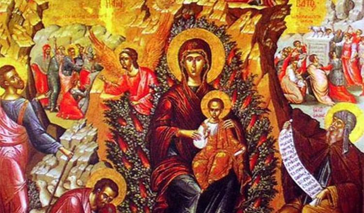 Rugăciune IMN la rugul aprins al Preasfintei Născătoare de Dumnezeu