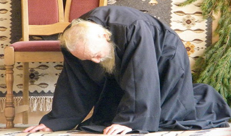 Rugăciune de umilință și iertare