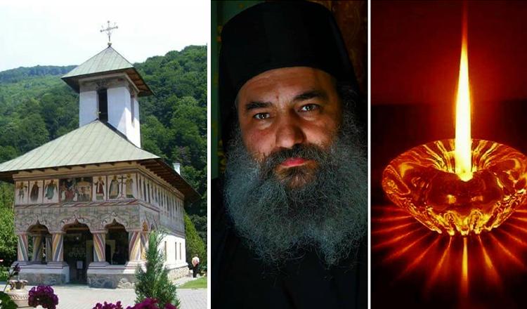 Mănăstirea Lainici în doliu