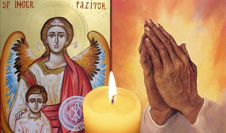 Rugăciune către Sfântul Înger Păzitor GRABNIC ajutătoare