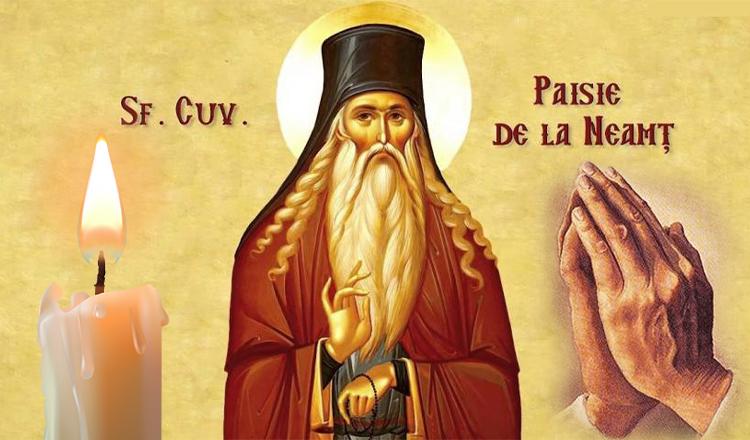 Rugăciunea către Cuviosul Părinte Paisie de la Neamț