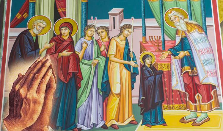 Rugăciunea de Intrarea Maicii Domnului în Biserică care îți împlinește orice dorință