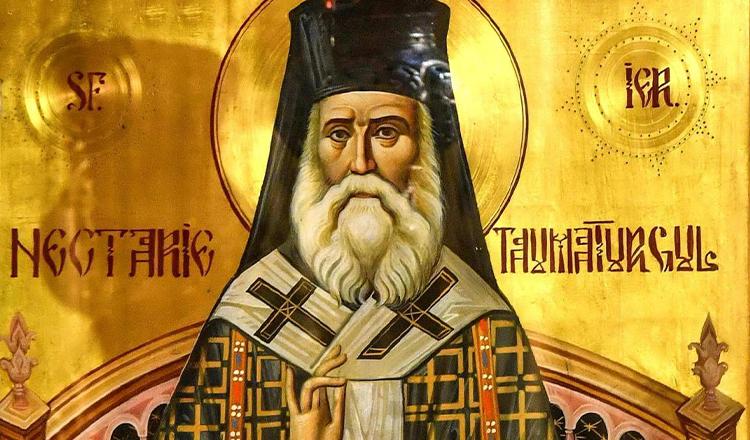100 de ani de la trecerea la Domnul a Sfântului  Nectarie